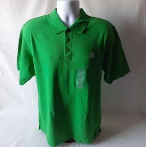 Southpole Men's green polo shirt size L